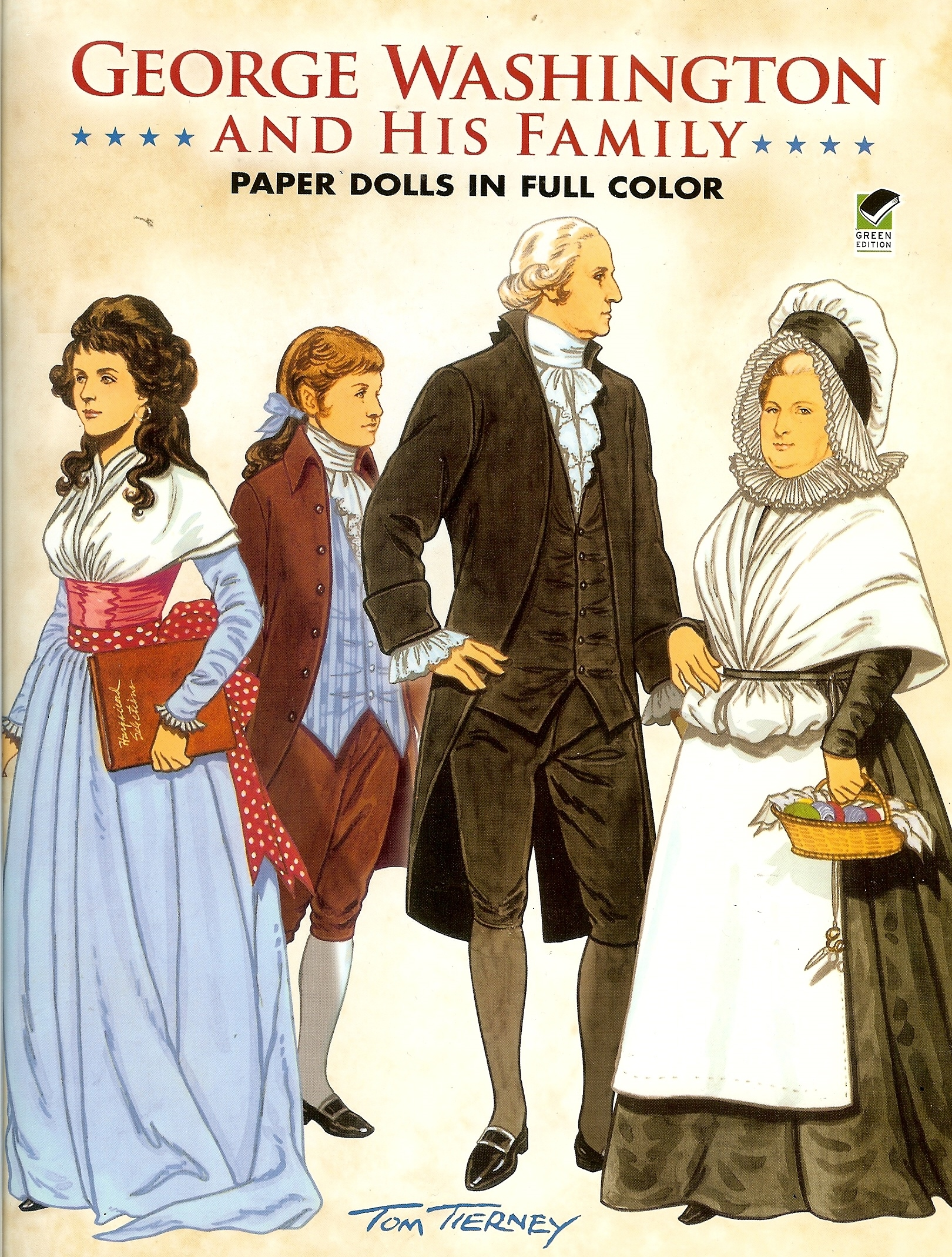 George Washington and his Family Paper Dolls - National Constitution ...